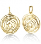gold-circle-earrings